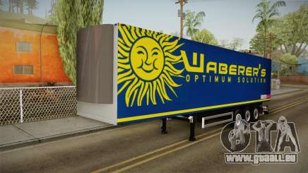 Waberers Trailer pour GTA San Andreas