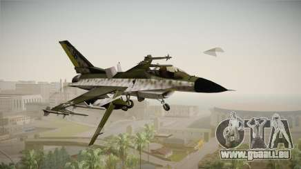 F-16A Luftwaffe WW2 pour GTA San Andreas