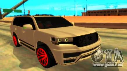 Toyota LC 200 Mz Speed pour GTA San Andreas