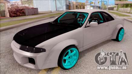 Nissan Skyline R33 Rocket Bunny v2 für GTA San Andreas