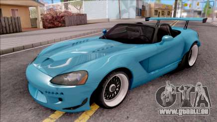 Dodge Viper SRT-10 Widebody 2003 pour GTA San Andreas