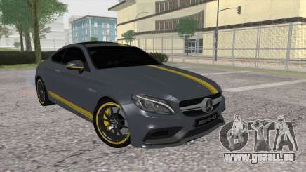 Mercedes-Benz C63 Coupe Edition 1 für GTA San Andreas