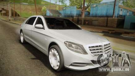 Mercedes-Maybach S600 X222 für GTA San Andreas