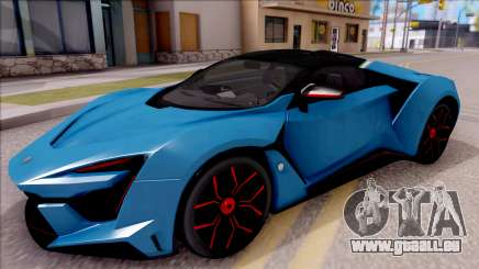 W Motors Fenyr SuperSport für GTA San Andreas