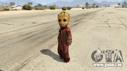 Baby Groot 1.0 pour GTA 5
