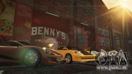 New Bennys Original Motor Works in SP 1.5.4 für GTA 5