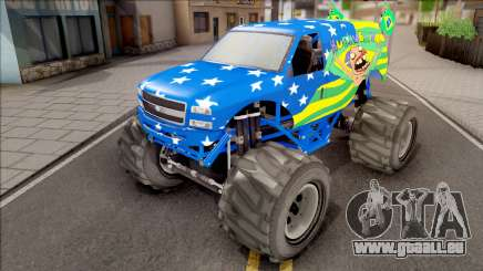 The Liberator Monster Car HueBr für GTA San Andreas