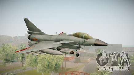 Chengdu J-10 Vigorous Dragon für GTA San Andreas