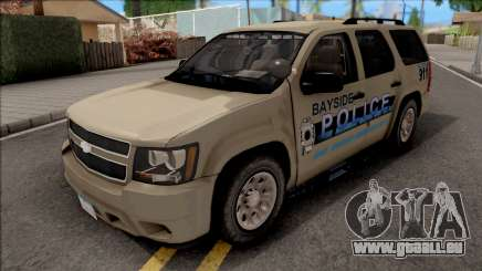 Chevrolet Tahoe Bayside Police Department 2010 pour GTA San Andreas