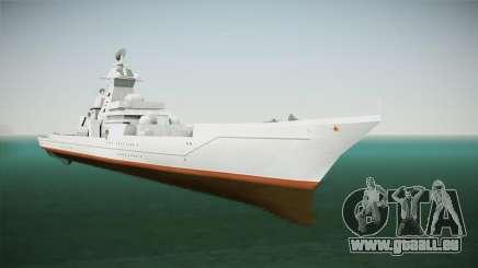 Kirov Class Battlecruiser pour GTA San Andreas