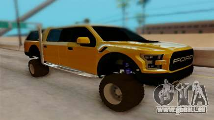 Ford F150 Raptor 4x4 Off-Road pour GTA San Andreas