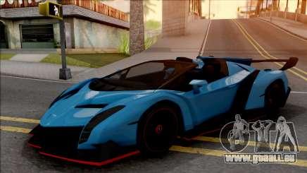 Lamborghini Veneno Roadster v.1 für GTA San Andreas