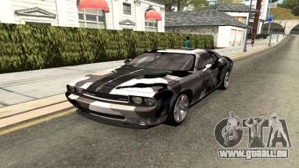 Dodge Challenger SRT für GTA San Andreas