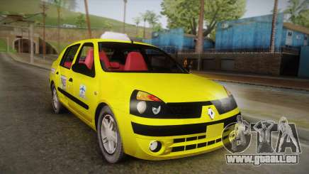 Renault Symbol Taxi für GTA San Andreas