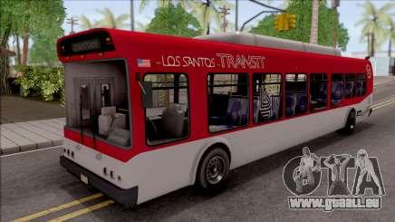 GTA V Brute Bus IVF für GTA San Andreas