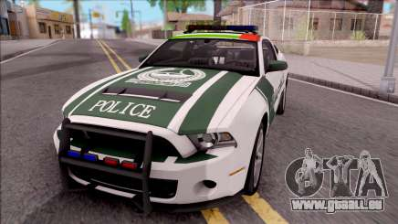 Ford Mustang Shelby GT500 Dubai HS Police pour GTA San Andreas
