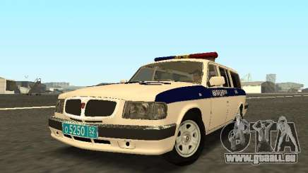 GAZ 310221 DPS de la Police pour GTA San Andreas