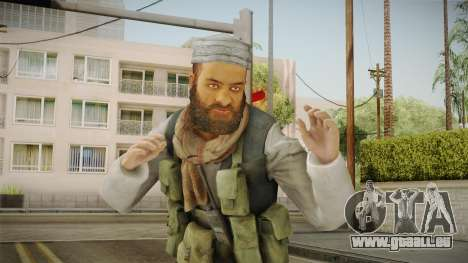 Medal Of Honor 2010 Taliban Skin v5 für GTA San Andreas