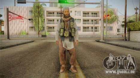 Medal Of Honor 2010 Taliban Skin v5 für GTA San Andreas zweiten Screenshot