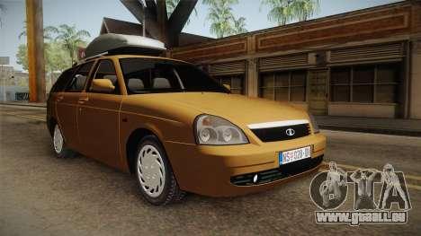 Lada Priora SW Sommerzeit pour GTA San Andreas vue de droite