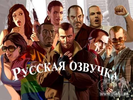 La voix de la russie pour GTA 4