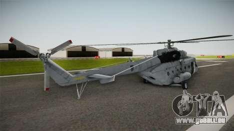 Mil Mi-171sh Croatian Air Force für GTA San Andreas linke Ansicht