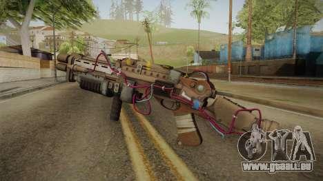 Joker Gun from Batman: Arkham Knight für GTA San Andreas zweiten Screenshot