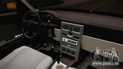 Lada Priora SW Sommerzeit pour GTA San Andreas vue intérieure