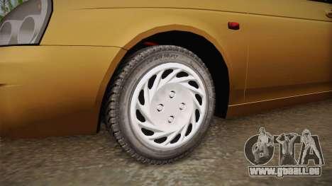 Lada Priora SW Sommerzeit pour GTA San Andreas vue arrière