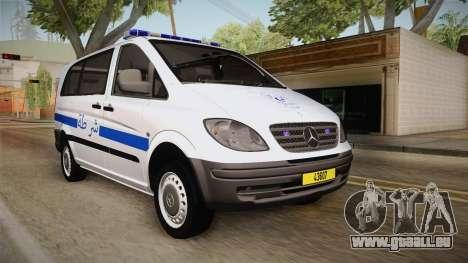 Mercedes-Benz Vito Algerian Police pour GTA San Andreas
