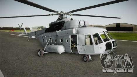 Mil Mi-171sh Croatian Air Force pour GTA San Andreas sur la vue arrière gauche