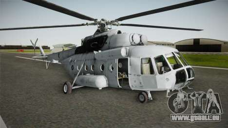 Mil Mi-171sh Croatian Air Force für GTA San Andreas zurück linke Ansicht