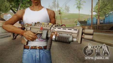 Joker Gun from Batman: Arkham Knight für GTA San Andreas dritten Screenshot