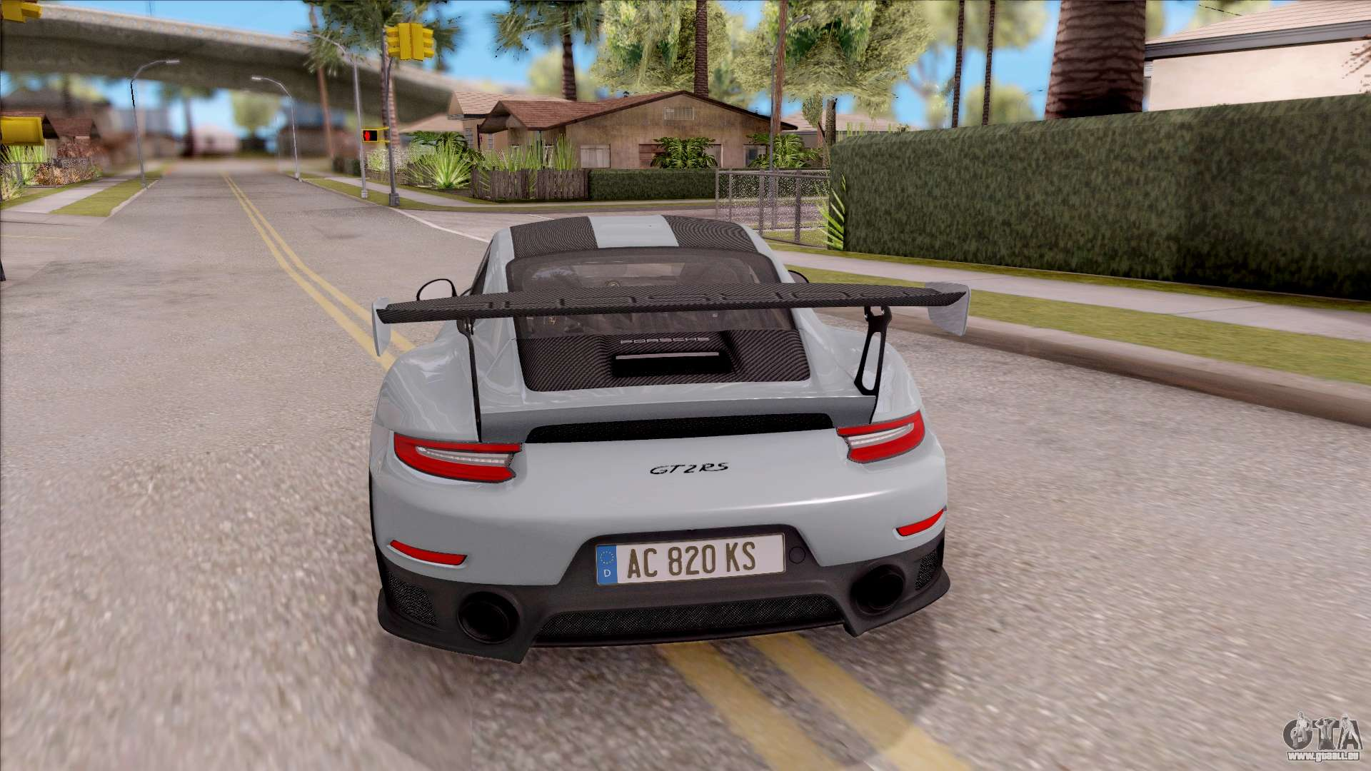 porsche 911 gt2 rs weissach package eu plate f r gta san andreas. Black Bedroom Furniture Sets. Home Design Ideas