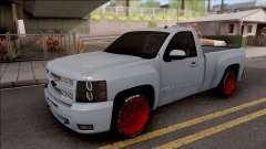 Chevrolet Silverado Single Cab pour GTA San Andreas