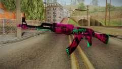 CS: GO AK-47 Neon Revolution Skin pour GTA San Andreas