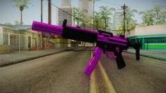 Purple MP5 pour GTA San Andreas
