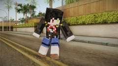 Minecraft Tokiasaki Kurumi Skin