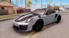 Porsche 911 GT2 RS Weissach Package EU Plate pour GTA San Andreas