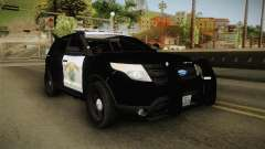 Ford Explorer CHP 2013 pour GTA San Andreas
