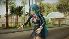 Asuna Yuuki School Uniform v4