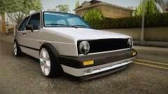 Volkswagen Golf MK2 2.0 TFSI Beta pour GTA San Andreas