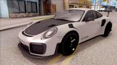 Porsche 911 GT2 RS 2017 EU Plate für GTA San Andreas