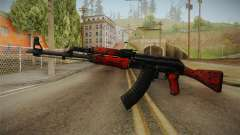 CS: GO AK-47 Red Laminate Skin