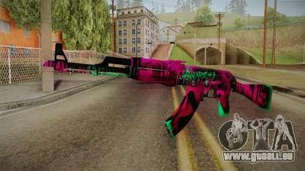 CS: GO AK-47 Neon Revolution Skin für GTA San Andreas
