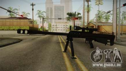 Mirror Edge Barrett M95 für GTA San Andreas