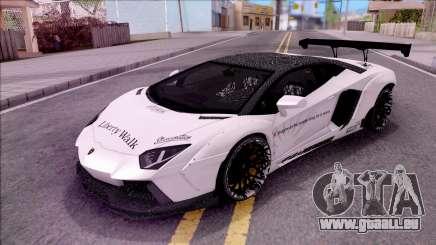 Lamborghini Aventador LP700-4 LB Walk Custom für GTA San Andreas