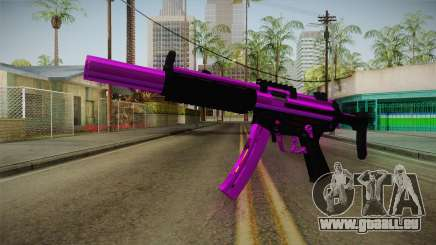 Purple MP5 pour GTA San Andreas