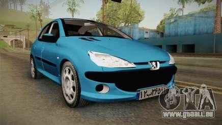 Peugeot 206 pour GTA San Andreas