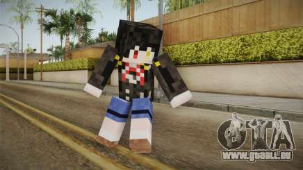 Minecraft Tokiasaki Kurumi Skin pour GTA San Andreas